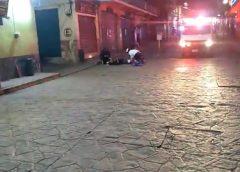 Balacera en centro histórico de Papantla (Videos)