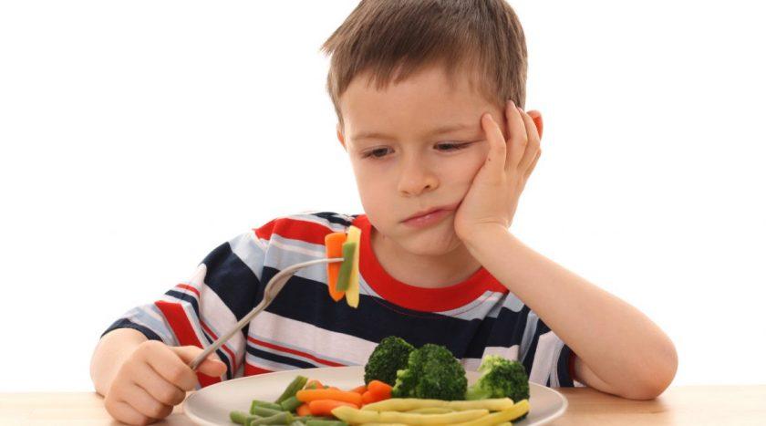 Niños veganos