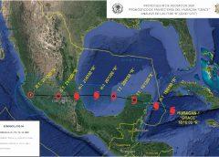 Activan Plan Marina ante inminente embate del huracán Grace